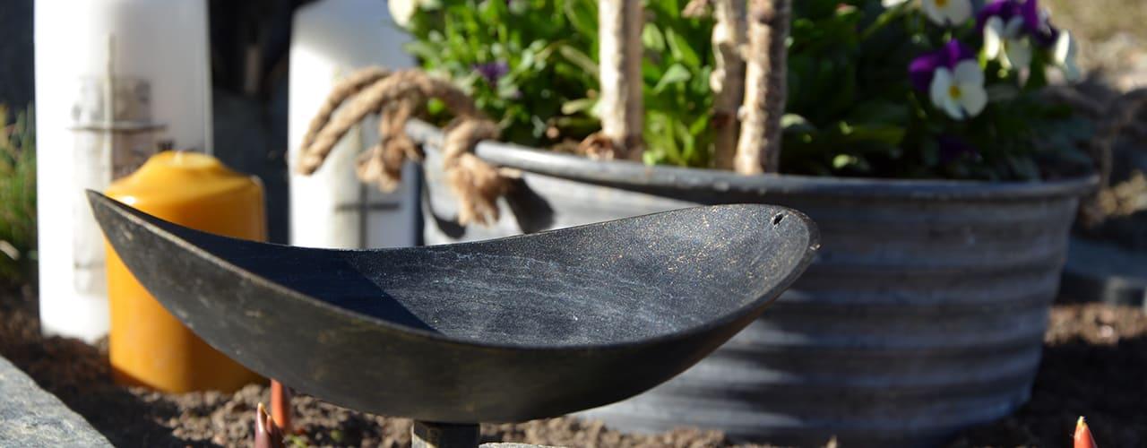 mr steel design - Offene Weihwasserschale aus Eisen